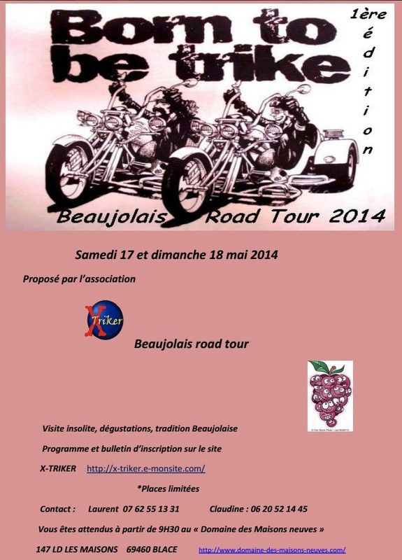 (05-17) - BEAUJOLAIS ROAD TOUR